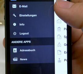 1&1 Mail-App für iOS