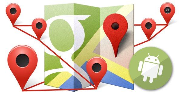google-maps-standordverlauf-android