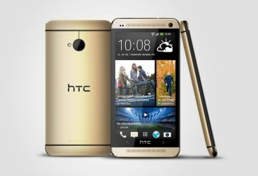 HTC One Gold Header
