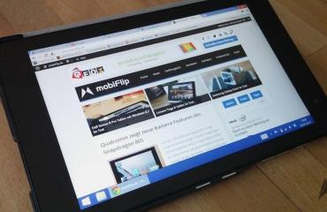 Dell Venue 8 Pro Header