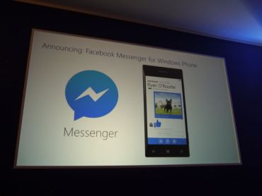 Facebook Messenger Windows Phone