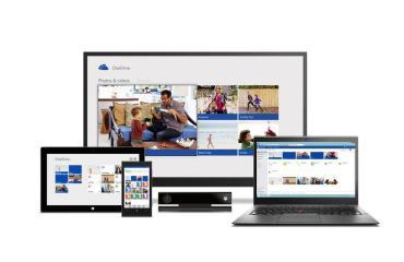 Microsoft OneDrive Header
