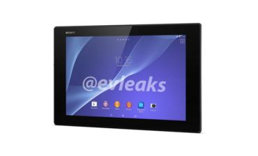 Sony Xperia Z2 Tablet Header