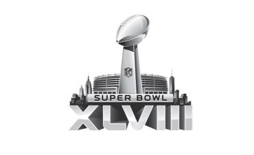 Super Bowl 2014 Logo Header
