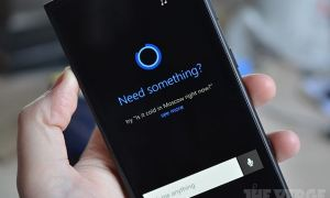 Microsoft Cortana Header
