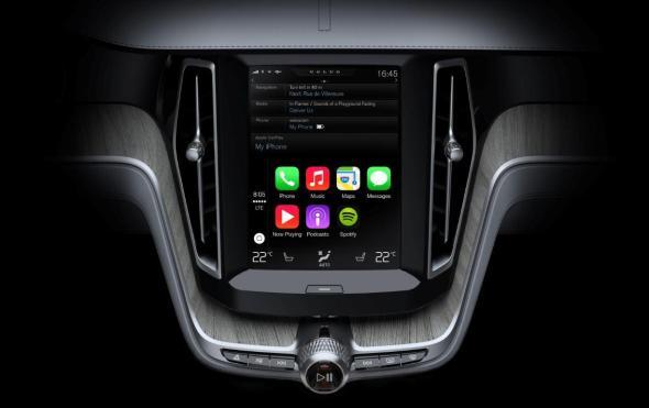 Volvo Apple CarPlay