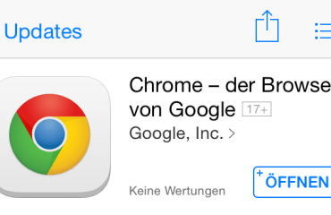 Chrome Google iOS