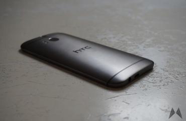 HTC One M8 Rückseite