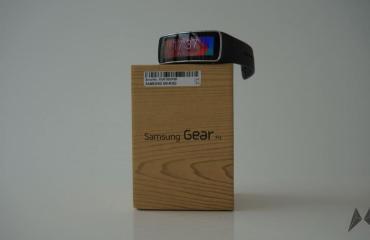 Samsung Gear Fit Header