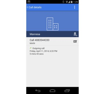 android dialer app new design