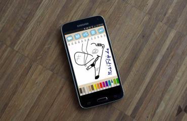 Galaxy S5 Stifteingabe