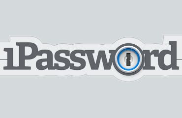 1Password Logo Header