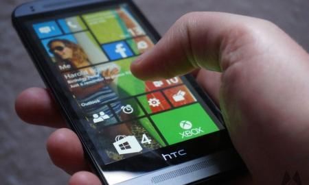 HTC One M8 W8 Windows Phone Header
