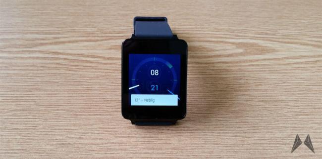 LG G Watch Header