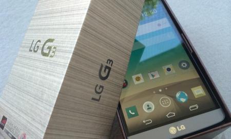 LG G3 Header