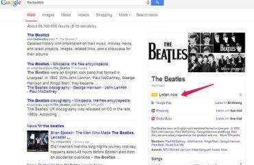 Google-Suche Listen Now