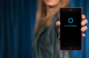 Microsoft Windows Phone Cortana Header