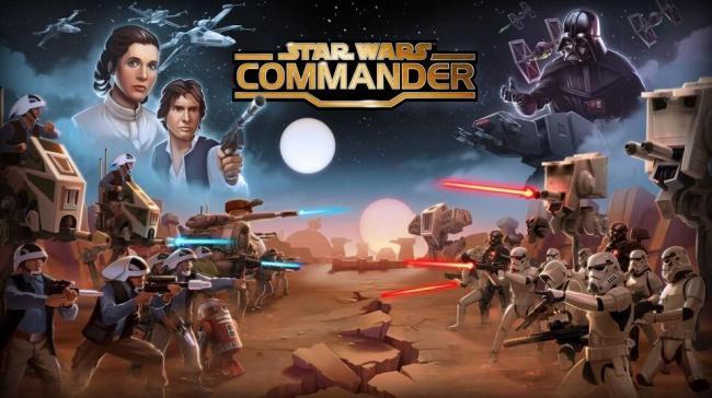 Star Wars Commander Header