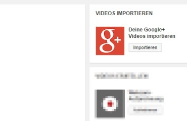 youtube google plus