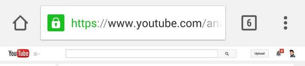 Chrome Android Home-Button