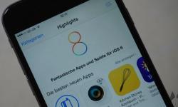 iOS 8 App Store iPhone 6 Header