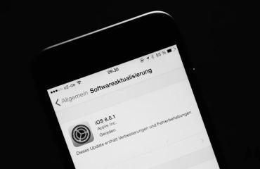 iOS 8 Update Header