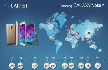 note 4 release termin