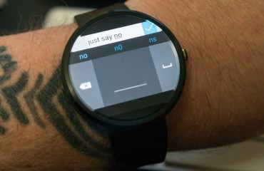 Mirosoft Analog Keyboard Android Wear