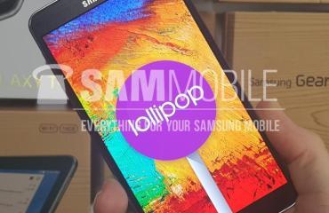 Galaxy Note 3 Lollipop