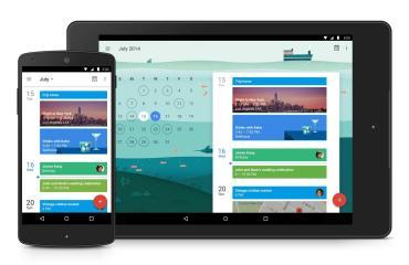 google kalender tablet smartphone