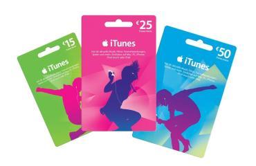 iTunes Karte Header