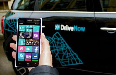 DriveNow Windows Phone