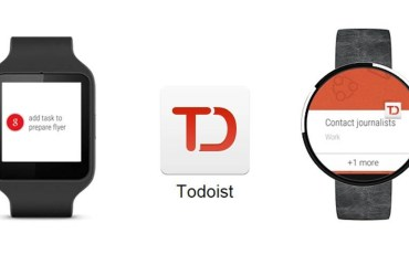 Todoist Android Wear Header