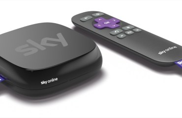 Start der Sky Online TV Box - Die Streaming-Box von Sky powered by Roku