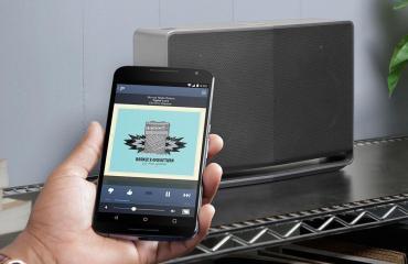 Google Cast for Audio Header