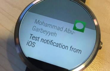 Android Wear iOS-Support