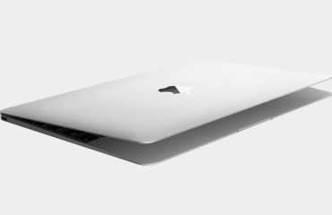 MacBook 2015 Silber