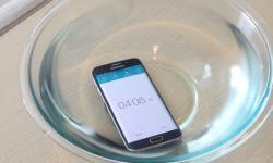 Samsung Galaxy S6 Edge Wassertest