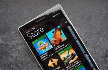 Windows Phone Store Header