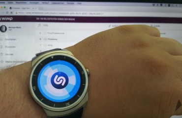 Shazam unterstützt nun Android Wear