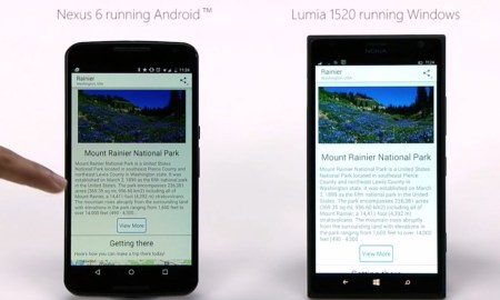 windows phone android app