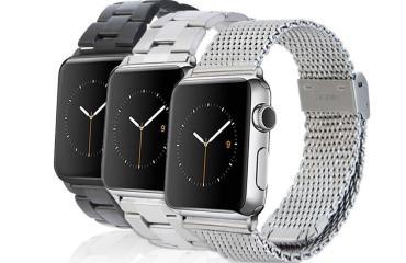 Apple-Watch-Armbänder von Monowear