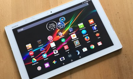 Sony Xperia Z4 Tablet LTE Test2