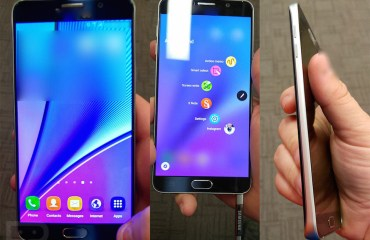 Samsung Galaxy Note 5 Leak Top