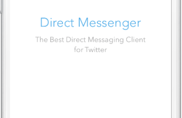 direct messenger twitter