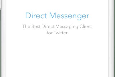 direct messenger twitter