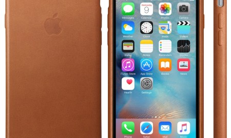 iPhone 6s Leder Case Sattelbraun