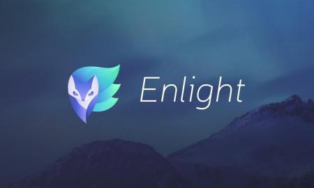 Enlight Logo Icon Header