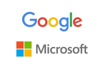 Microsoft Google Logo