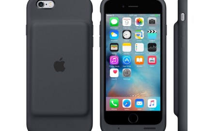 iPhone 6s Smart Battery Case Grau Header